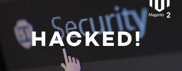 hacked magento server
