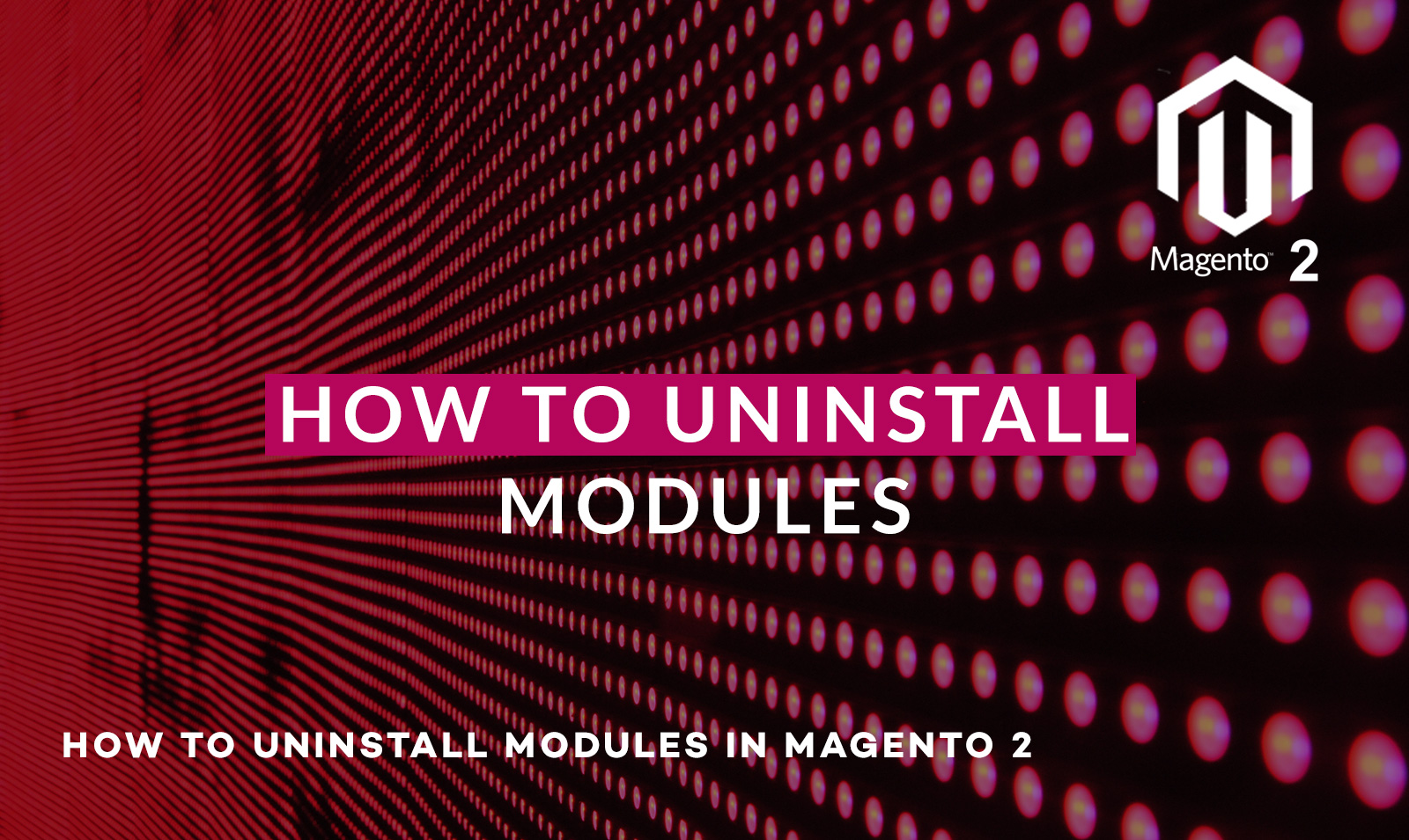 How to Uninstall modules in Magento 2 using composer or