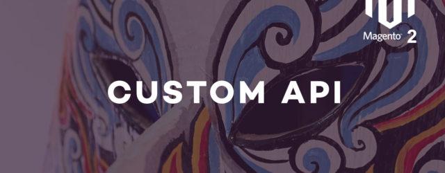 how to create customer API in Magento 2