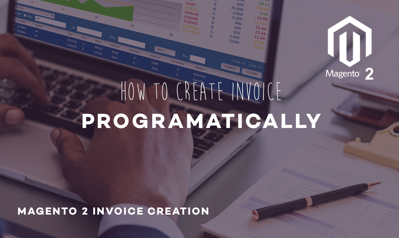 Magento 2 : How to create invoice programatically?