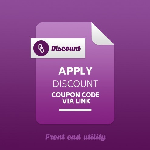 Apply Discount Coupon Code via Link