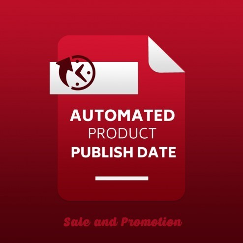 Automated Product Publish Date