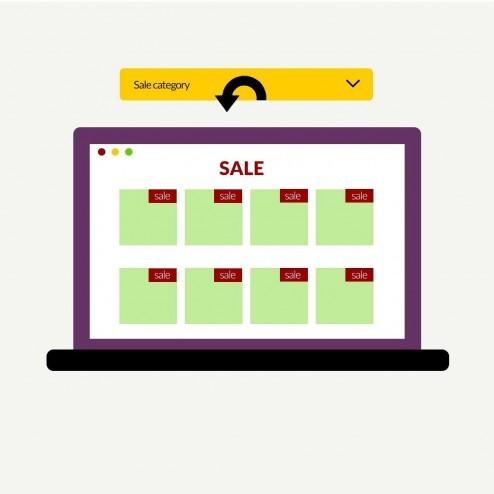 Magento 2 Dynamic Sale Category