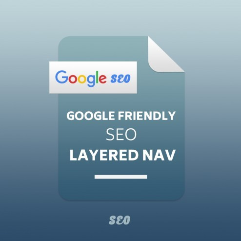 Google Friendly SEO Layered Navigation