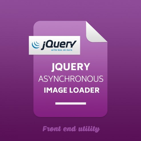Jquery Asynchronous Image Loader (JAIL)