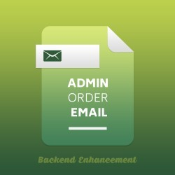 Admin Order Email