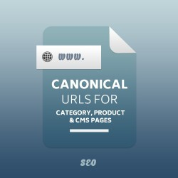 Canonical Urls for Category, Product and CMS pages