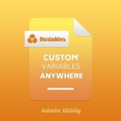 Custom Variables Anywhere