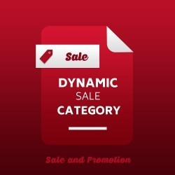 Magento 2 Dynamic Sale Category