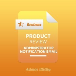 Product Review Administrator Notification Email