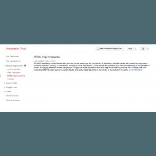 Magento Google Webmaster Tool