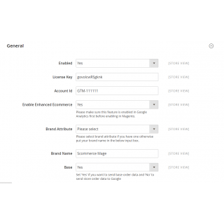 Google Tag Manager Pro Admin Configuration