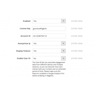 Google Enhanced Ecommerce Configuration Settings 1