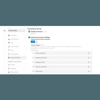 Google Enhanced E-commerce Settings