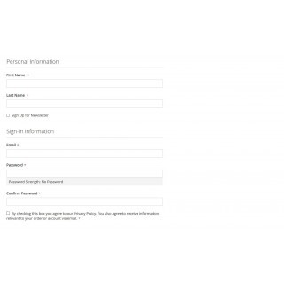 Privacy Policy Consent Register Customer